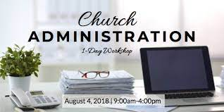 Church Administration Workshop — SoCal Foursquare